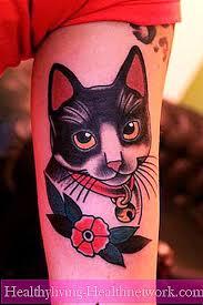 Kočka Tetování Pro Muže A ženy Péče O Pleť 2019
