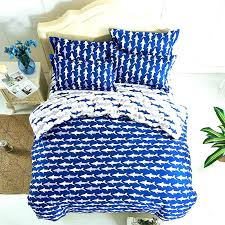 polyester sheets ocean shark print duvet cover queen twin bed fish kids bedding po ocean fish queen size bed