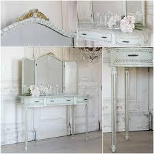 antique tri fold vanity mirror furniture