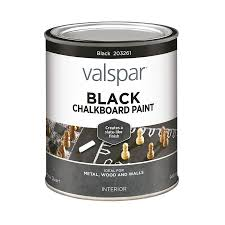 Valspar Black Latex Chalkboard Paint (Actual Net Contents: 32-oz)