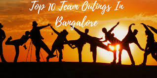 top 10 team outing experiences in bangalore