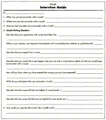 older adults descriptions of their role expectations of nursing figureinterview guide figure interview guide