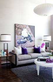 Purple And Grey Living Room Decorating 17 Best Images About My Purple Room On Pinterest Grey The