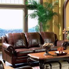 coaster fine furniture princeton dark brown leather sofa