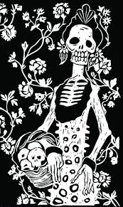 Day Of The Dead Black And