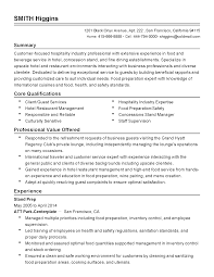 Concession Worker Sample Resume Cooks Resume For Examples Cover Letter shalomhouseus 1