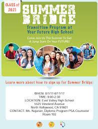 summer bridge 2017