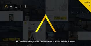 archi interior design joomla template