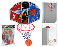 Childrens Mini Basketball Hoop And Ball Indoors Or Outdoors Door ...