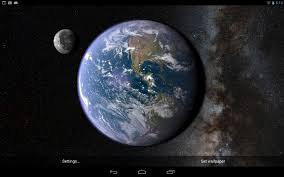 The Earth And Moon, P - Earth ...