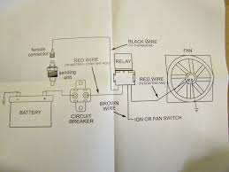 wiring diagram for electrical radiator fan the wiring diagram focus electric cooling fans on the cheep corvetteforum wiring diagram