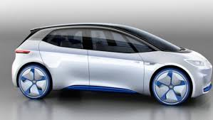 new release electric carVolkswagen Releases Images Of New AllElectric ID Concept