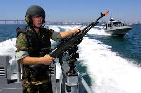 U S Navy Gunners Mate Seaman Justin Baker From Inshore Boat Unit