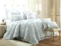 gray ruffle bedding