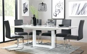 high gloss dining table sets amp extending white high gloss dining black high gloss dining table