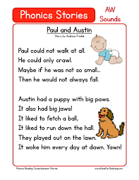 Phonics is a method of teaching kids to learn to read by helping them to match the sounds of letters, and groups of letters, to distinguish words. 1st Grade Worksheets Phonics Reading Comprehension Samsfriedchickenanddonuts