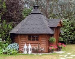 garden hut. Garden Lodge Hut