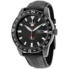 seiko 5 sports automatic black carbon fiber dial men s watch seiko 5 sports automatic black carbon fiber dial men s watch srp719k1s