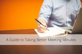 A Guide To Taking Better Meeting Minutes [Infographic & Template ...