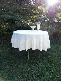 90 tablecloth polyester round
