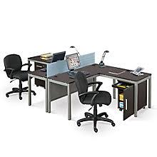 compact office furniture. At Work Two Person Complete Compact Office, 8807979 Office Furniture E