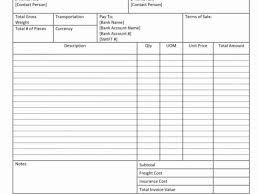 Sample Invoice Pdf With Bill Sales Template For Car And Bill Sale ...
