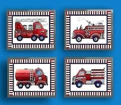 fire truck wall art fire truck wall art firetruck art prints vintage fire truck children kids