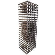 wood metal wine rack. Wonderful Rack Stylish MidCentury Modern Style Wood And Metal Wine Rack For Sale With S
