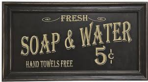 Amazoncom Ohio Wholesale Vintage Bath Advertising Wall Art from