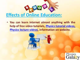online education good or bad effects of online education
