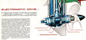 evinrude boats omc electric shift model 14 stern drive © 2004 lee k 1962 johnson electramatic lower unit