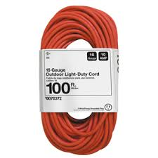 shop extension cords at lowes com display product reviews for 100 ft 10 amp 16 gauge orange outdoor extension