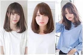 Baik itu untuk menata rambut, make up dan lain sebagainya. 8 Model Poni Korea Untuk Wajah Bulat Yang Bikin Pangling Womantalk Com Line Today