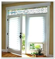 door window coverings ideas treatments sliding glass covering t