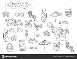 Kleurplaten Zon Zee En Strand