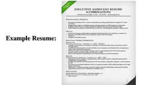 What Is A Combination Resume Combination Resume