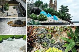 small rock garden contemporary how to make a with water feature