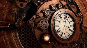 clock vintage steampunk gears