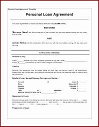 Loan Agreement Word Document Debt Agreement Letter Sample Luxury Sample Loan Agreement Word 23