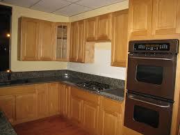 Fresh Decoration Honey Oak Kitchen Cabinets With Granite Countertops