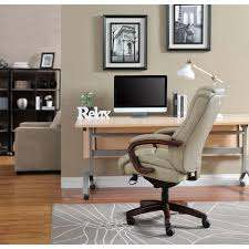 furniture office home. miramar taupe bonded leather executive office chair furniture home w
