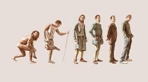 Evolution Of Man Chart Modern Man Evolution Chart Inspired Love Life Coaching