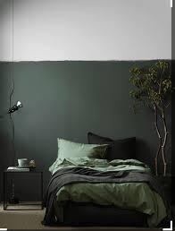 swedish interior stylist pella hedeby created this moody olive bedroom for elle decoration sweden