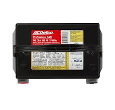 acdelco. amazon.com: acdelco 78agm professional agm automotive bci group 78 battery: acdelco r