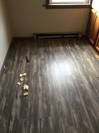 from shaw vinyl plank flooring just installed it in a al very easy to put down and looks great too early to tell how it will hold up