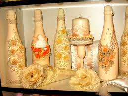 Champagne Bottle Decoration Champagne Bottle Decorations For Weddings Many Weddings Ideas