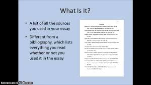 The Works Cited Page In Mla Format A Review Of The Basics In