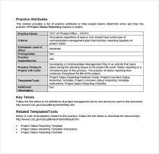 Project Status Reporting 14 Sample Project Status Reports Pdf Word Pages Portable Documents
