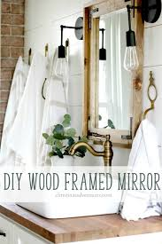 framed bathroom mirrors diy.  Diy Almost Every Time I Share A Picture Of Our Bathroom Renovation Someone  Asks U201cu2026but Where Did You Get Those Mirrorsu201d And Have To Answer U201cWe  In Framed Bathroom Mirrors Diy
