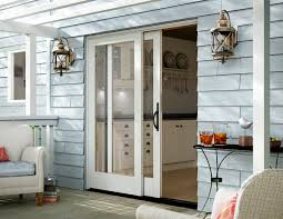 exterior patio doors window treatment